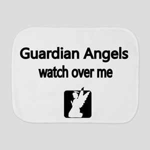Guardian Angels watch over me Burp Cloth