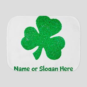 Custom Irish St. Patricks Day Burp Cloth