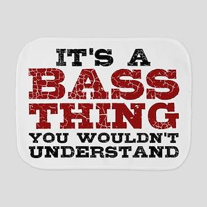 It's a Bass Thing Burp Cloth