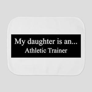 Daughter - Athletic Trainer Burp Cloth