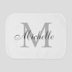 Personalized Monogram Name Burp Cloth
