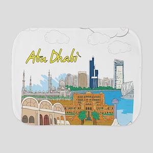 Abu Dhabi in the United Arab Emirates Burp Cloth