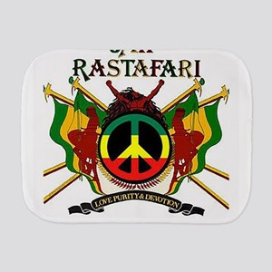 Jah Rastafari Burp Cloth