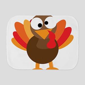 Funny Turkey Burp Cloth