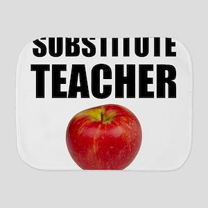 Substitute Teacher Burp Cloth