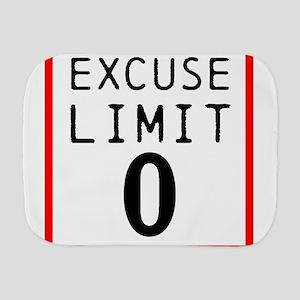 Excuse Limit 0 Burp Cloth