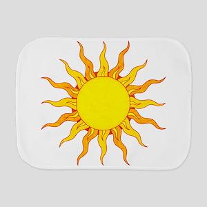Grunge Sun Burp Cloth