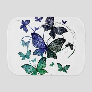 Butterflies Burp Cloth