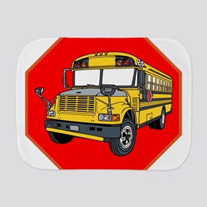 School Bus Driver Burp Cloth