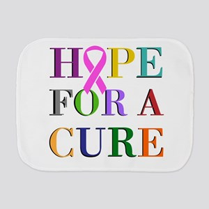 Hope For A Cure Burp Cloth