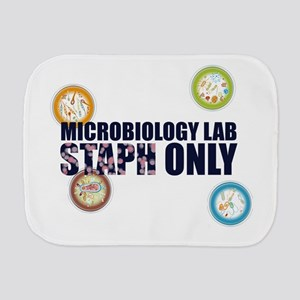 Microbiology Lab Staph Only Burp Cloth
