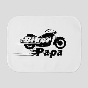 Biker Papa Burp Cloth