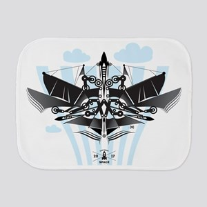 Flying machine Burp Cloth