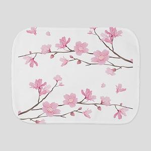 Cherry Blossom Burp Cloth