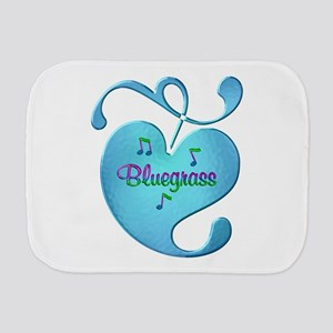 Bluegrass Love Burp Cloth