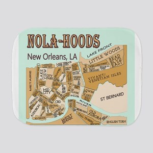 NOLA-Hoods Burp Cloth