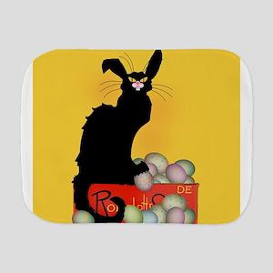 Happy Easter - Le Chat Noir Burp Cloth