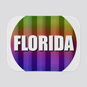 Florida Rainbow Orlando Burp Cloth