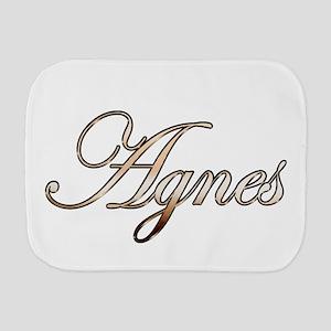 Gold Agnes Burp Cloth