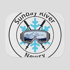 Sunday River - Newry - Maine Burp Cloth