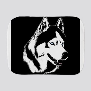 Siberian Husky / Malamute Burp Cloth