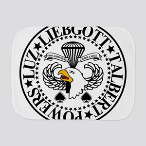 Band of Brothers Crest Burp Cloth