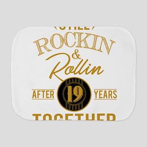 Still Rockin Rollin After 19 Years Toge Burp Cloth