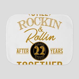 Still Rockin Rollin After 22 Years Toge Burp Cloth
