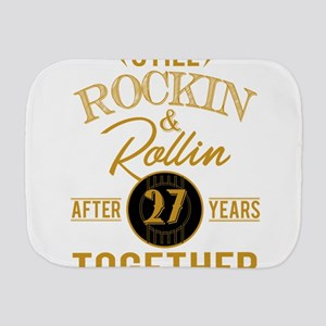 Still Rockin Rollin After 27 Years Toge Burp Cloth