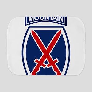 10th Mountain Division Burp Cloth