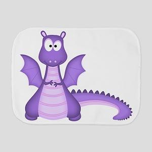 Purple Dragon Burp Cloth