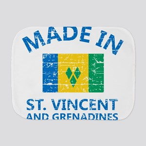 Made in St Vincent and Grenadines Burp Cloth