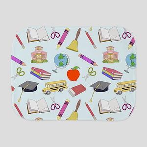 School Influence Burp Cloth