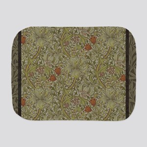 William Morris Floral lily willow art p Burp Cloth