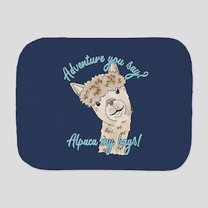 alpaca my Burp Cloth