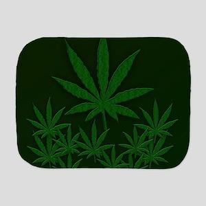Marijuana / Weed Design Burp Cloth