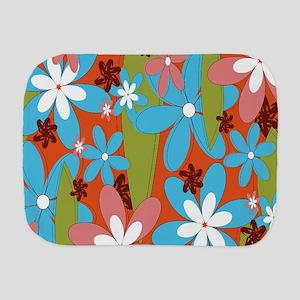 Hippie Flower Power Burp Cloth