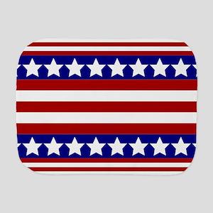Stars and Stripes Burp Cloth