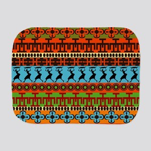 African Traditional Ornament Burp Cloth