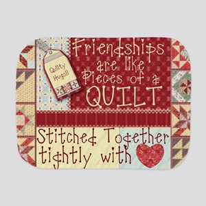 Quilting Friendships Burp Cloth