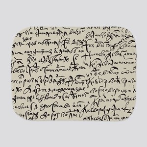 Ancient Manuscript Burp Cloth