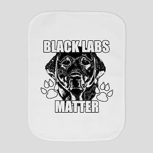 BLACK LABS MATTER 2 Burp Cloth