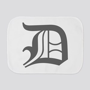 D-oet gray Burp Cloth