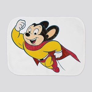 Grunge Mighty Mouse Burp Cloth