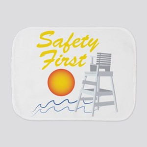 Safety First Burp Cloth