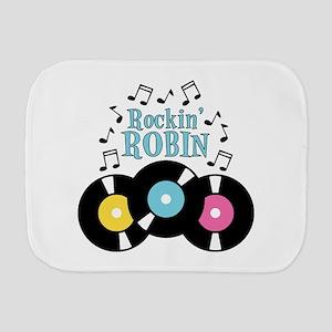 Rockin Robin Burp Cloth