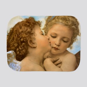 First Kiss by Bouguereau Burp Cloth