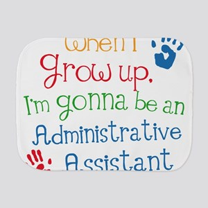 Administrative Assistant Burp Cloth