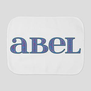Abel Blue Glass Burp Cloth