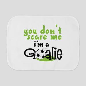 Im A Goalie Burp Cloth